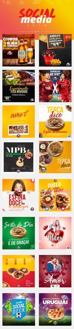 Social Media - Social Deck on Behance Web Design, Social Media Design, Social Media Template, Social Media Graphics, Branding, Creative Posters, Advertising Design, Graphic Design Inspiration, Digital Marketing