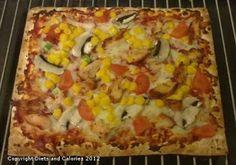 Warburtons Square Wraps - Pizza
