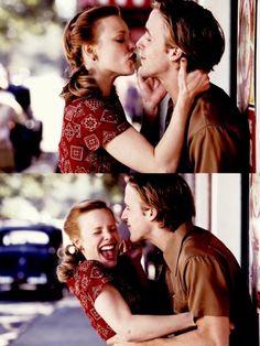 The Notebook/ Wie ein einziger Tag, erstens: der schönste Film, zweitens: das schönste Paar! drittens: Ryan Gosling ist so heiß! Viertens: Rachel MCAdams ist so hübsch! Fünftens: Ich guck zu viele Schnulzen...;) <3
