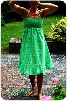 Lovely green summer dress