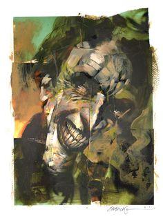 The Joker by Dave McKean