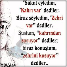 Hz.Mevlana Karma, Favorite Quotes, Qoutes, Islam, Religion, Writing, Learning, Words, Memes
