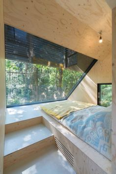 Gallery of Transformation Forest House / Bloot Architecture – 1 Transformation Waldhaus, © Jeroen Musch Interior Architecture, Interior And Exterior, Architecture Journal, Plywood Interior, Timber Roof, Roof Extension, Extension Ideas, Forest Design, Forest House