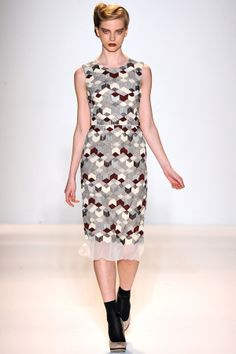 Fall 2012 by Lela Rose , via Behance