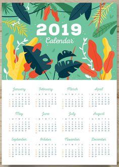 27 Best Calendar Images In 2019 Monthly Calendar Template