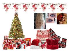 """""""Untitled #776"""" by undeaddemon18 ❤ liked on Polyvore featuring General Foam, M&Co, Winter, Christmas and winterstyle"""