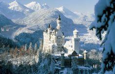 Bilder und Fotos von Schloss Neuschwanstein