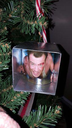 Die Hard John McClane Christmas Ornament DIY idea by Zink (Diy Ornaments Funny)