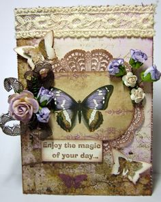 Love this card by Riddersholm Design: Enjoy the magic of your day