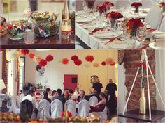 Wedding in shades of red / Wesele w odcieniach czerwieni