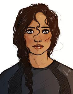 the face of the revolution -- katniss everdeen
