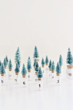 DIY Christmas tree advent calendar (+ the loveliest filling for any age) by Nomita of Your DIY Family Advent Calendar Fillers, Diy Advent Calendar, Diy Christmas Tree, Christmas Countdown, Christmas Pictures, Christmas Projects, Simple Christmas, All Things Christmas, Jars