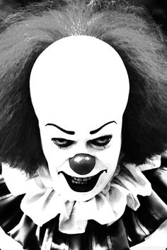 """Tim Curry as Pennywise The Clown in IT (1990) """