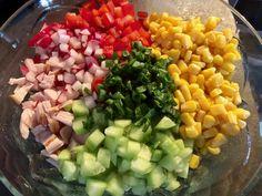Tortellini, Tzatziki, Cobb Salad, Food And Drink, Cooking, Blog, Diet, Kitchen, Blogging