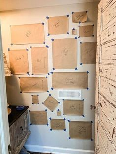 Give your home decor a more customized look with these quick and simple builders tape DIY projects. Perfect for your living room, bedroom, kitchen, wall and entryway decor these ideas are on a budget and look expensive. #hometalk Apartment Washer, Bar Stool Makeover, Basement Makeover, Vintage Family Photos, Faux Brick Walls, Window Planters, Cube Organizer, Country Interior, Easy Home Decor
