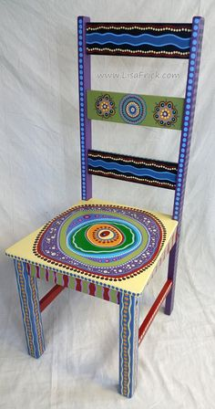 SOLD Sample Of CUSTOM WORK Custom Painted Side Chairs Hand Furniture Chalk Paint