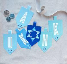 Celebrate Hanukkah with Free Printables from Evermine.com