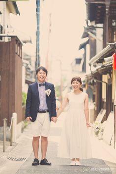 奈良でロケーションフォトの前撮り!鹿と緑と青い空! | 結婚式の写真撮影 ウェディングカメラマン寺川昌宏(ブライダルフォト)