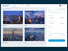 Renty Desktop Web UI WIP