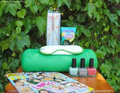 """Camp Care Package for your teen daughter.  Pack in a colorful tote with a gift tag that says """"Happy Glamping!!!"""""""