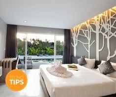 #TipDeIluminación  Utiliza iluminación indirecta y cálida (amarilla) para destacar las superficies o relieves de muros y paredes.  ¡Entérate de más consejos de iluminación y decoración en la revista Mi Tecno Lite!