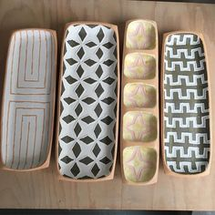 Rectangular platters. #courtneymartinpottery #contempor | Courtney Martin Pottery