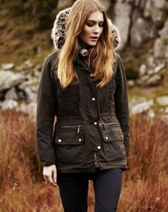 barbour womens kelsall wax jacket