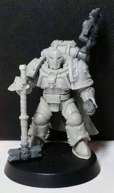 Dantioch, Loyal Warsmith of the IVth Legion Number 23 arrives, borne by ancient technology to aid the enemies of his mislead gene-father. Barabas Dantioch was once a favoured Warsmith of Perturabo, commanding the 51st Grand Company of the IVth Legion. During the Great Crusade, Dantioch was a witness and a victim of the Iron Warriors' disposition for campaigns of attrition. During a campaign to exterminate a Hrud swarm,