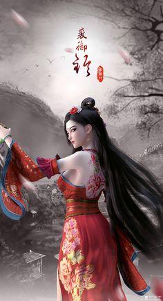 Pin von Tc Linh auf Kim Tam t Fantasy Kunst - Smooth Art - Art Fantasy Art Women, Beautiful Fantasy Art, Dark Fantasy Art, Fantasy Girl, Fantasy Artwork, Anime Art Fantasy, Art Geisha, Chica Fantasy, Art Chinois
