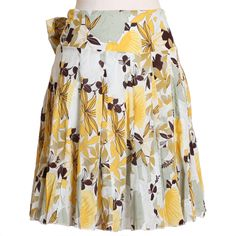 Dancing with the Flowers A-Line Skirt | Ruche $36.99