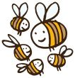@Sarah Beresford Lots and lots and lots and lots of bees. All the same illustrator. Hundreds to choose from