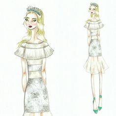 Wonderland (28) Fashion sketch
