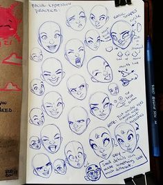 Warm up doodles for today. Just wanted to play with some facial expressions for girls. Hope you all have a nice start to your weeks. . #rodgontheartist #doodles #sketches #drawings #sketch #art #sketching #cartoon #design #drawing #artwork #sketchbook #illustrator #illustration #girl #pinup #animation #characterdesign #comics #coffeebreakdoodles #anatomy
