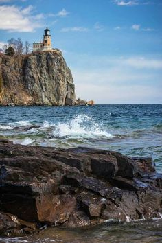 Split Rock Lighthouse 4/4/15 by Thomas J Spence
