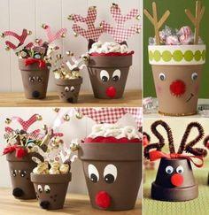 Clay Pot Snowman Ornaments Video Tutorial More