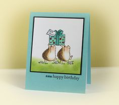 Hedgie Birthday for Step-dad's Stash