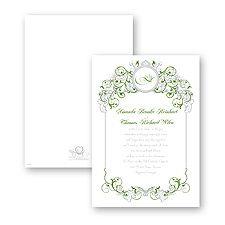Fairy Tale Filigree Wedding Invitation - Tiana