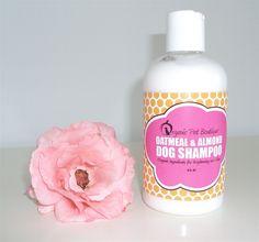 Organic Pet Boutique Organic Oatmeal & Almond Dog Shampoo, 8oz