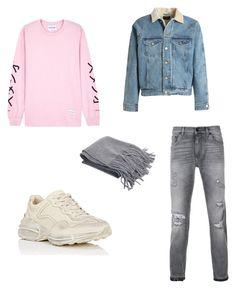"""zomer type"" by juliadeuveren on Polyvore featuring Dolce&Gabbana, MKI Miyuki-Zoku, Gucci, Fear of God, men's fashion en menswear"