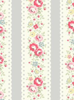 Cath Kidston via The Lark Blog, Floral print, flower, flowers, floral, flora