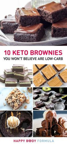 10 Irresistible Keto Brownies You Won't Believe Are Low Carb