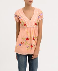 Blusa bordada FLAMENCO