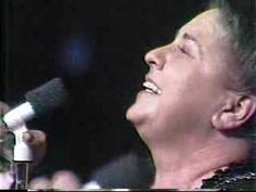 """Sister Vestal -- the anointin's in the hanky! Rolling Stone called her the queen of gospel music, and lordy, who's to deny it? I am convinced that when she sang, she was looking into the face of God.  """"He's Coming Again"""" By The Goodmans/Johnny Cook (1974)"""
