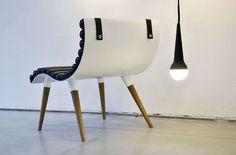 Curve Chair by Castor Design - Студия из Торонто Castor Design выполнила дизайн…