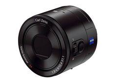 【8/31】9月4日発表のSonyの新しいレンズカメラ「DSC-QX10」にはホワイト&シャンパンゴールドも?iPhone 5Sに似合いそう??QX10/QX100の画像&スペック・価格リーク情報。