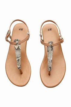 H&M - Sandalias de verano por menos de 30 euros