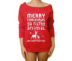 For ugly sweater Xmas party