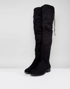 1ebd10f6e37 ASOS DESIGN | ASOS KEEP UP Wide Fit Extra Wide Leg Over The Knee Boots Shoes
