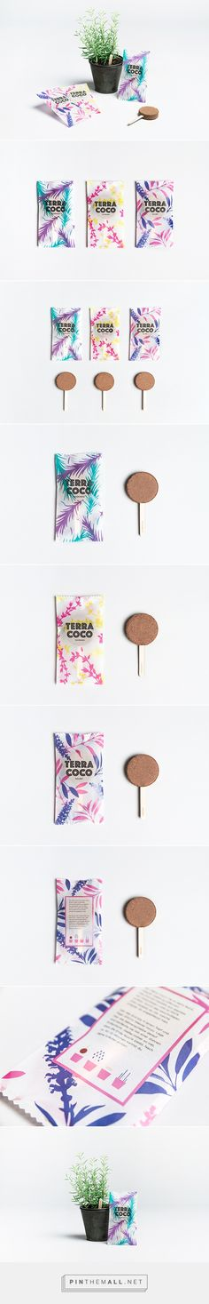 Terra Coco Seed & Soil by Yvonne Moser. Source: Packaging Design Served. Pin curated by #SFields99 #packaging #design