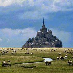 Mount Saint Michael. France